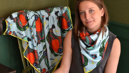 Profits from the sale of Isabella Singleton's Waterloo Scarf will be donated to the Household Cavalr