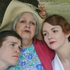 Noel Coward's Hay Fever which is being staged by Bury Theatre Workshop at Bury Theatre Royal. Charli