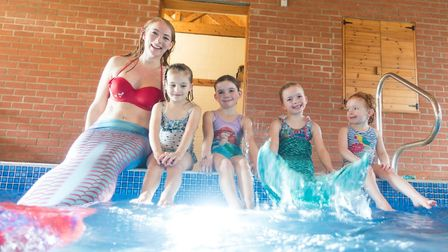 Hannah Pearl will be bringing her magical mermaid party to Diss Leisure Centre this Christmas. PHOTO
