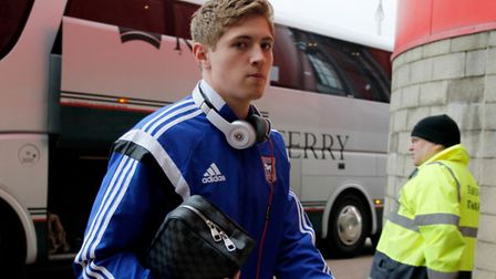 Ipswich Town's Teddy Bishop. Photo: Richard Sellers/PA Wire