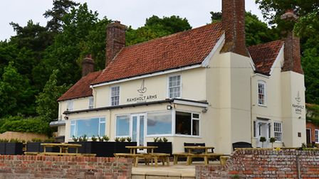 The Ramsholt Arms has been Michelin recommended