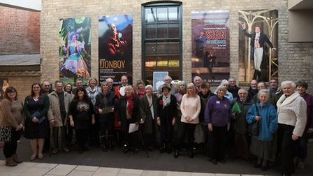 The Theatre Royal in Bury St Edmunds held an event earlier in the year for people to share their mem