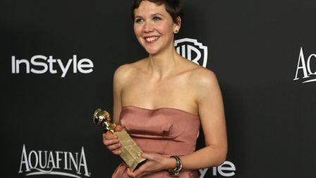 Maggie Gyllenhaal at the Golden Globes. At 37, Maggie Gyllenhaal has been told that she is too old t