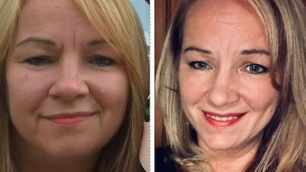 Diabetic Jennifer Darlow dropped two dress sizes after a 'terrifying' health warning from her doctor
