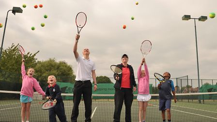 Ipswich has been ranked third in the country for number of tennis courts behind London and Sheffield