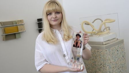 Georgie Ross, of Woodbridge, was awarded £2,000 and the Dr Supanee Gazeley Fine Art Prize for the be