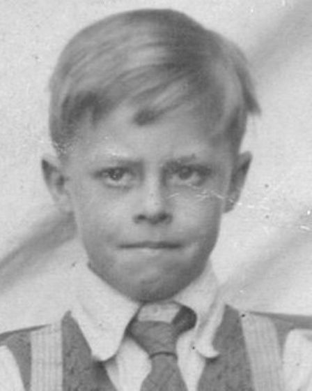 Food was on the mind of Barrie Watkins, pictured here at Chapel Hill Primary School, Braintree, in 1