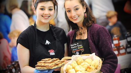 Taste of Sudbury food and drink festival. More than 60 local food and drink producers attended. Left