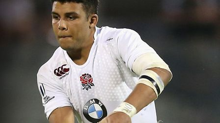 Lewis Ludlam in action for England at the Under-20 rugby World Cup Final. Photo: Getty Images