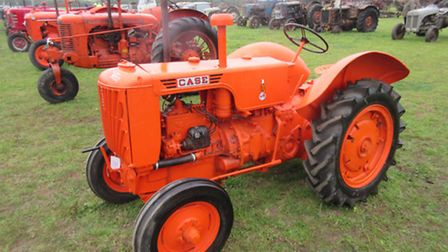 A Case R tractor which fetched £3,700.