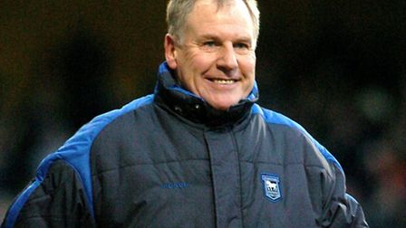 Sport; Ipswich vs Leicester City; A happy Joe Royle at the end of the match; Picture by Ashley Picke