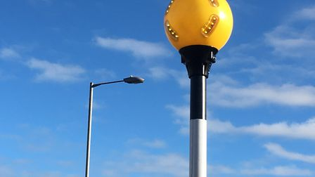 Concerns have been raised about the brightness of lighting at the new zebra crossing on Victoria Roa