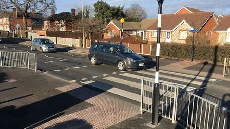 Nine people failed breath tests on Victoria Road in Diss on Saturday. Picture: Simon Parkin