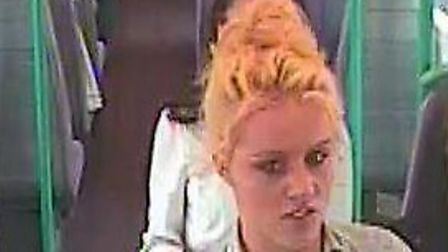 Investigators have released CCTV images of two girls they believe may have information about the inc