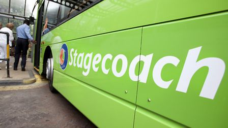 Stagecoach said today that profits within its bus business had fallen short of its hopes, due to low