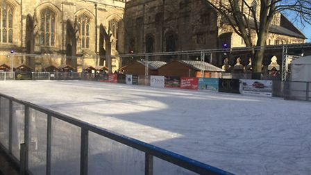 Winter Wonderland ice rink in Winchester, which has partly inspired the Colchester plans.