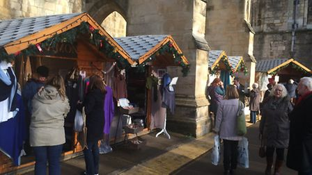 Winter Wonderland market in Winchester, which has partly inspired the Colchester plans.