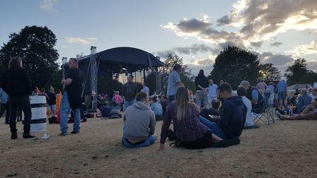 Crowds enjoyed the first Gig in the Park in Diss but the event will not go ahead in 2019. Picture: M