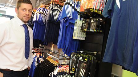 Behind the scenes at ITFC ITFC director of retail operations Lee Hyde