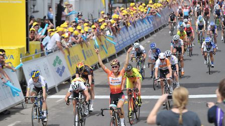 Lizzie Armitstead before the accident