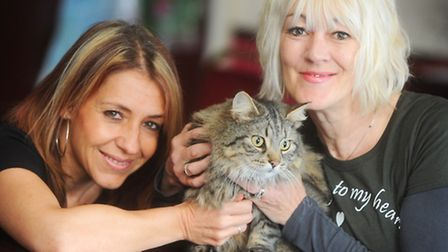Leyla Edwards and Deni Parkes from Missing Cats Anglia