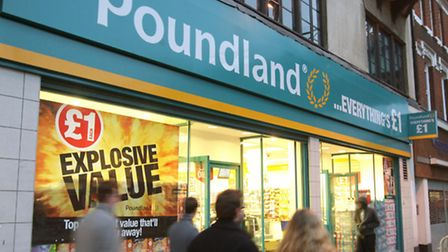 Poundland has posted increased annual profits.