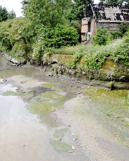 A substance thought to be diesel in the River Colne is thought to be the cause of the chemical smell