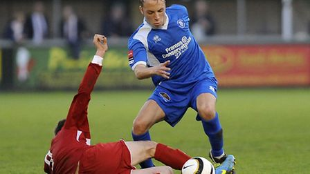 Former Bury Town youngster Ross Bailey has signed for AFC Sudbury
