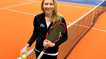 Amanda Janes the former British number two tennis player.