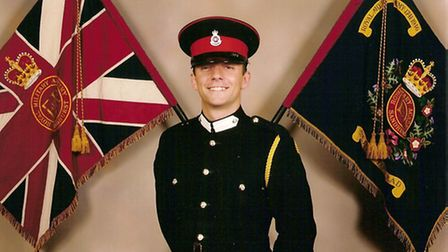 Lieutenant Aaron Lewis from Rochford, who was killed in Afghanistan in 2008 and in whose memory the