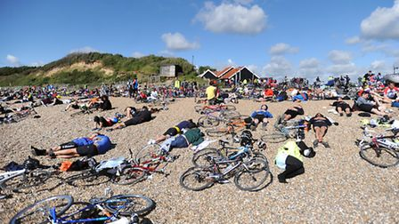Dunwich. End of the ride. 'It resembled one of those die-in protests or a scene from a public inform