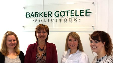Barker Gotelee has welcomed Lucy Underwood, conveyancing assistant, Linda Crawford, solicitor, Nicky