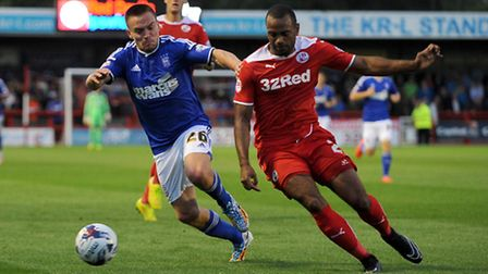 Paul Taylor's move from Ipswich to Peterborough did not work out