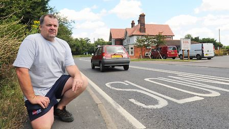 People living near the Bulmer Fox pub including Eddie Brown (pictured) are at the end of their tethe