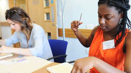 Medical careers day at The ICENI Centre at Colchester Hospital Rachel Akinsanya Colchester from Co