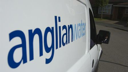 Anglian Water are dealing with a problem in Castle Street in Eye. Picture: Archant