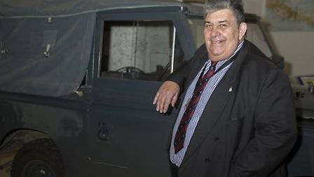 Bill Espie has been awarded the British Empire Medal in the New Year Honours. Picture: RAF Regiment