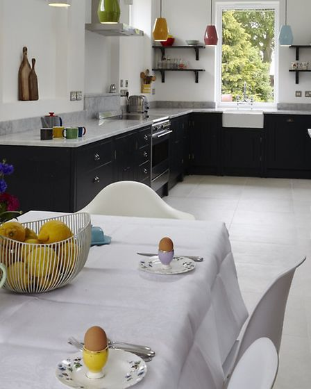The Chapel Rooms, Gislingham kitchen/dining room