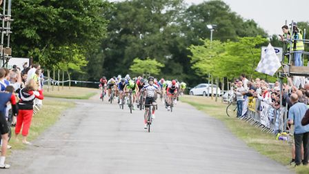 Ipswich's Grant Martin makes it three out of three in the Elite Race