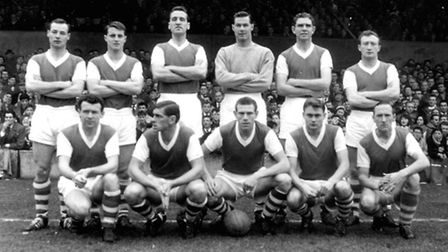 1962 Flashback pictures for Oct 12. April. Ipswich town Football Club won the First Division Cham