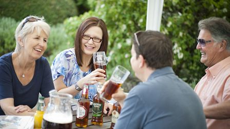 Spending on drinking and eating out remained robut during May, according to the latest Greene King L