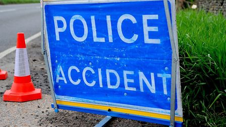 An accident has caused travel delays