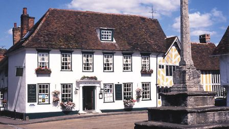 The Great House restaurant with rooms in Lavenham