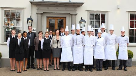 The team at The Great House at Lavenham.