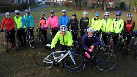 A group of female cyclists are riding 35 miles in tribute to Billie Fleming on Ride Like Billie Day.