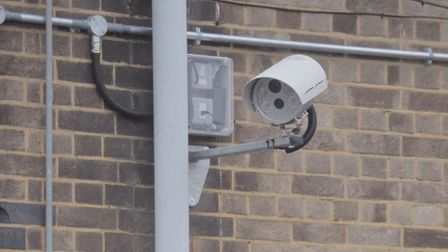 New parking measures at Diss train station includes number plate recognition cameras. Picture: Sarah