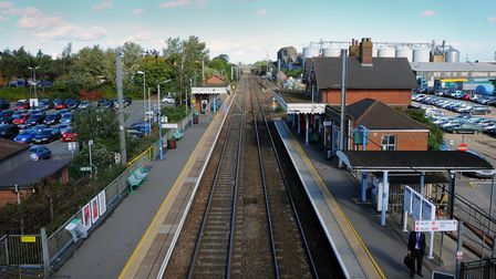 New parking measures at Diss train station including number plate recognition cameras will allow peo