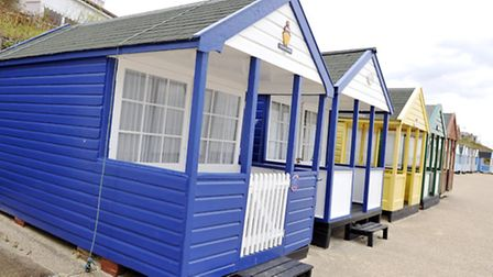 The Vital Spark beach hut in Southwold is on the market for �120,000.