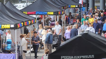 Maritime Festival at Ipswich Waterfront.