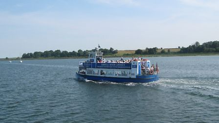 Why not take tea aboard the The Owell Lady on the river?